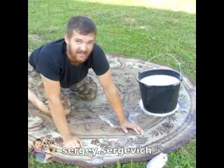 Хорошая самоделка, если жена попросит помыть ковер