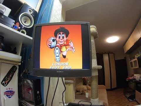 Подключил Nespi к старому монитору через переходник HDMI