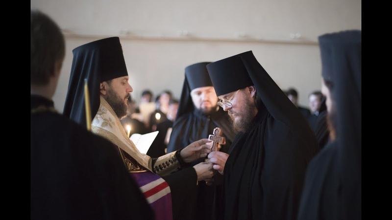 Монашеский постриг Taking monastic vows