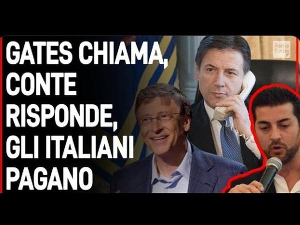 BILL GATES CHIAMA CONTE RISPONDE GLI ITALIANI PAGANO SOTTRATTI 150 MILIONI A FAMIGLIE E IMPRESE