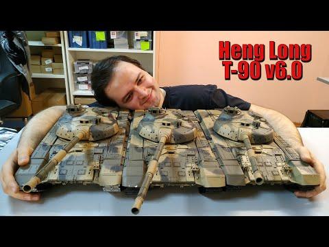 Радиоуправляемый Танк Т 90 Heng Long V6 0 Обзор Новых Танков