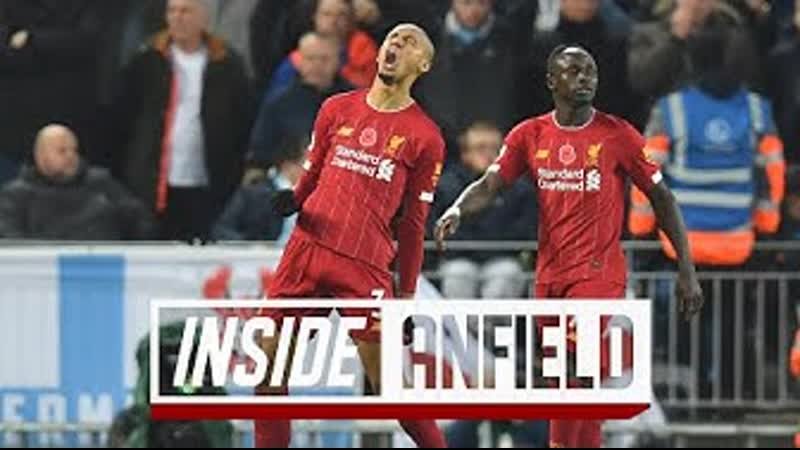 INSIDE ANFIELD Liverpool 3 1 Man City The UNSEEN footage