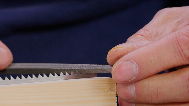 Sharpening a Crosscut Handsaw | Paul Sellers