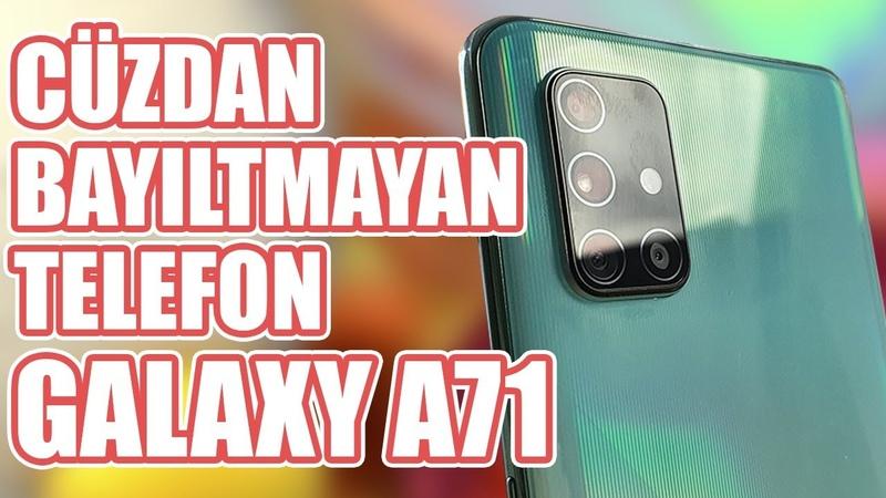 Samsung un İnsan Kadar Gü lü Bataryası Var Diye Tanıttığı Telefonu: Galaxy A71 İncelemesi