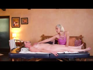 [AllGirlMassage] Marie Mccray, Goldie Glock - Tricking My New Step-Mom