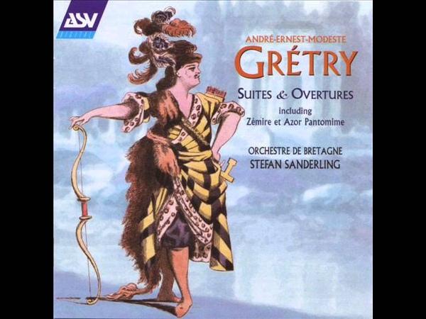 Gretry Overture L Amitie A L Epreuve