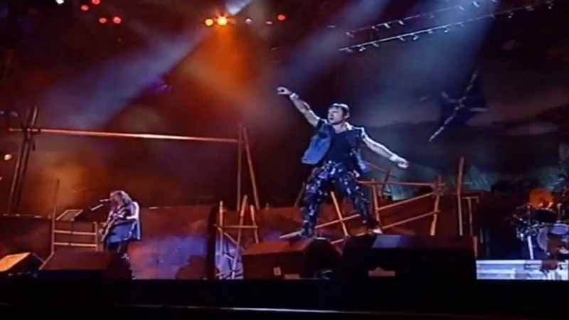 Iron Maiden The Clansman Rock In Rio HD