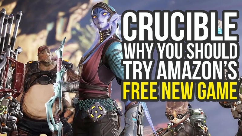 Crucible Gameplay Why You Should Try Amazon's New Free Game Crucible Amazon Gameplay