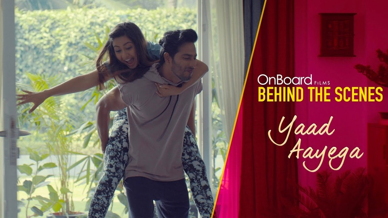 Yaad Aayega | Behind The Scenes | OnBoard Films | Times Music