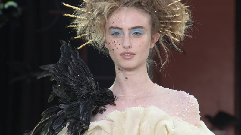 Guo Pei Fall Winter 2019/20 Haute Couture Paris Show