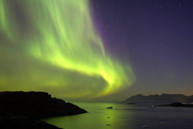 10 лучших мест в мире, где можно увидеть северное сияние, изображение №2