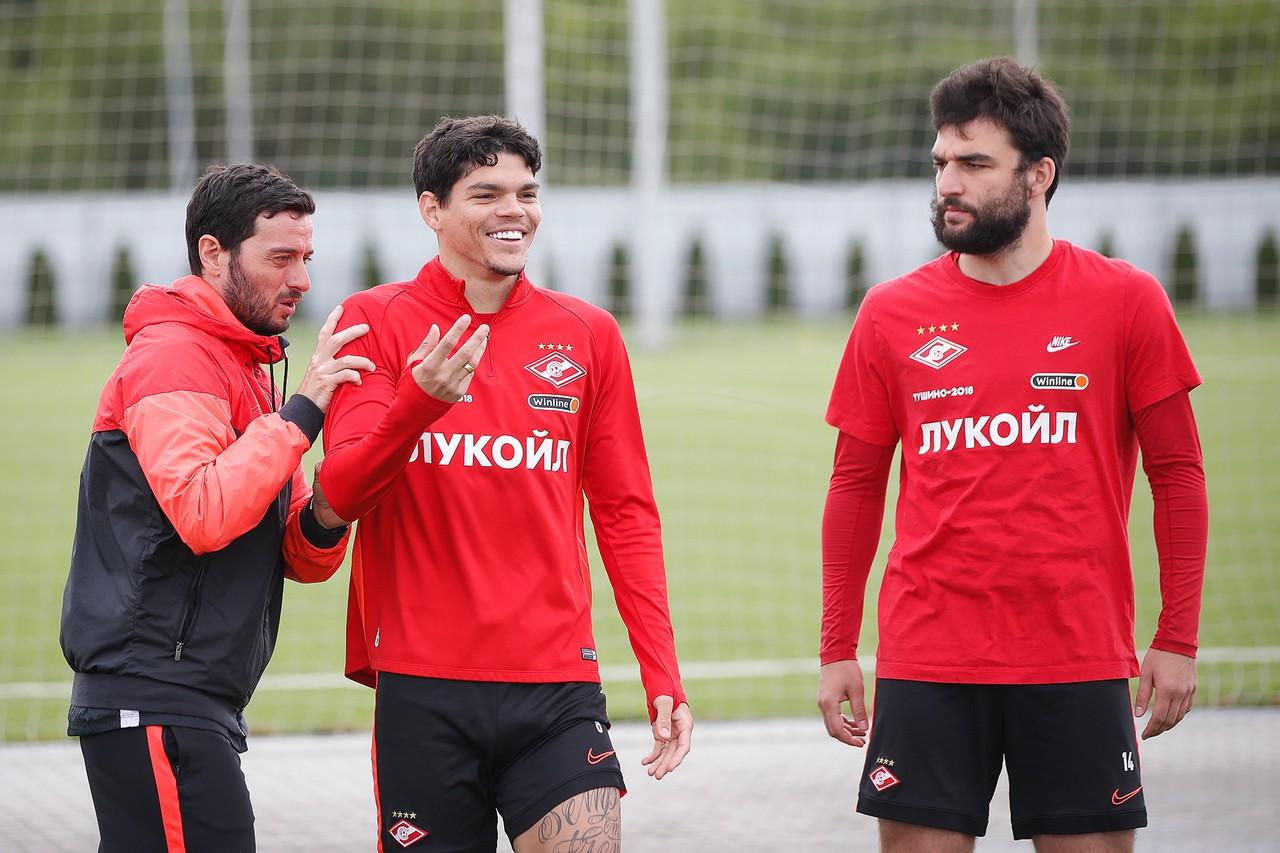 Айртон Лукас и Георгий Джикия