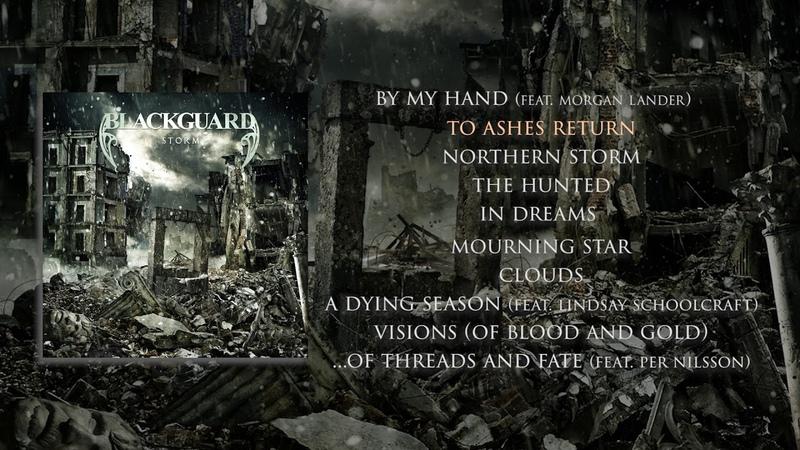 Blackguard 'Storm' FULL ALBUM