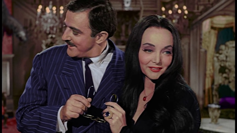 The Addams Family - Kitty's Meal (in COLOR) - POP-COLORTURE.com