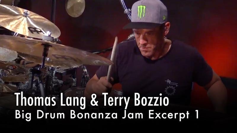 Big Drum Bonanza Jam – Thomas Lang Terry Bozzio (Excerpt 1)