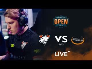 Virtus.pro vs opaa, dreamhack sevilla closed qualifier bo3