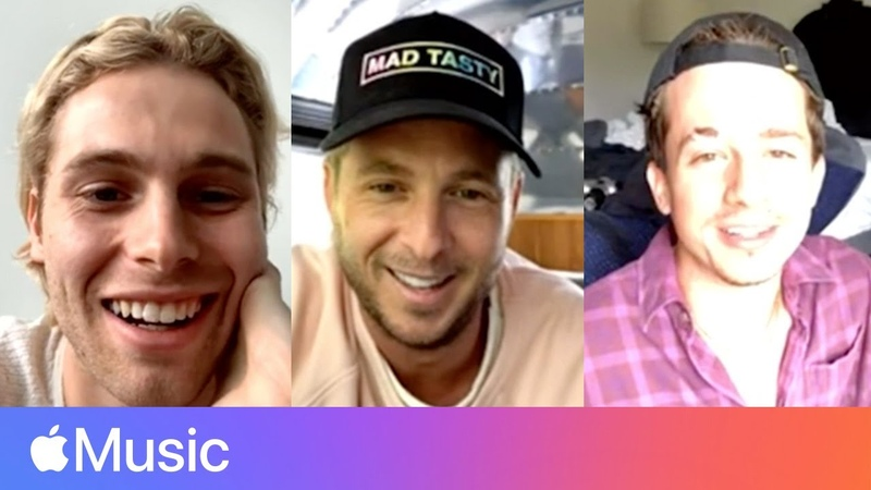 Charlie Puth Luke Hemmings and Ryan Tedder at Home l Apple Music