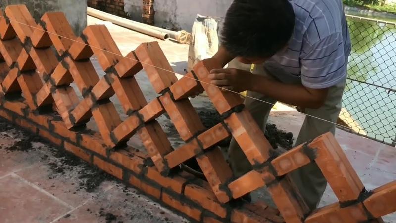 Я строитель 45 лет. но я никогда не видел такой техники раньше гениальные работники . 6