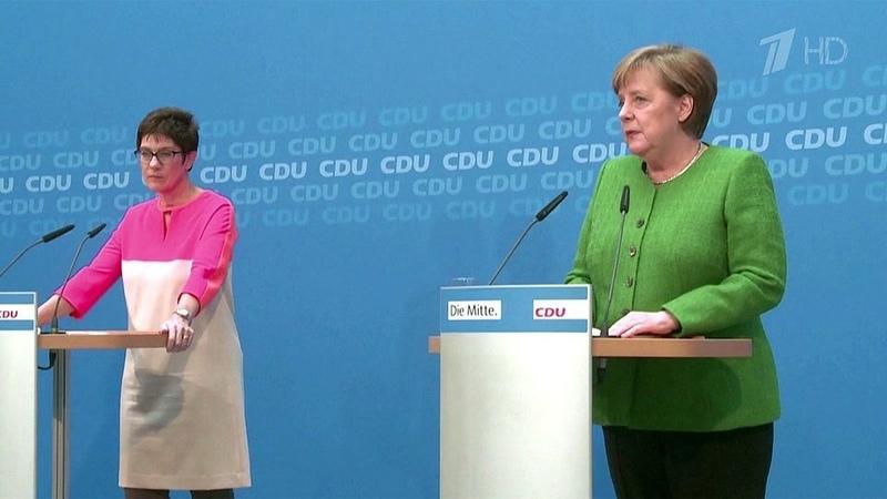 ВГермании разразился политический скандал сдалеко идущими последствиями Новости Первый канал