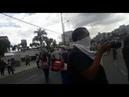 Marcha indigena quema instalaciónes de teleamazonas viva el paro en ecuador
