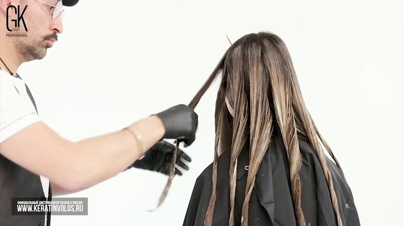 Окрашивание волос крем краской GKhair Cream Color