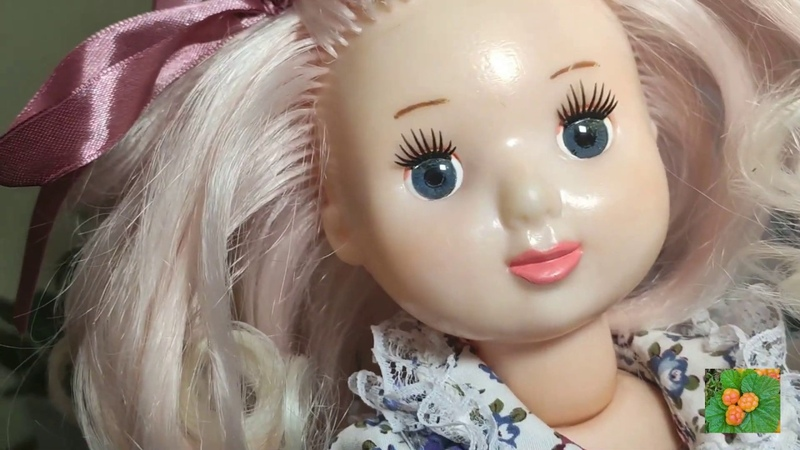 Переделка советской куклы. Ивановская фабрика Игрушки Кукла Света Образ Шебби-шик