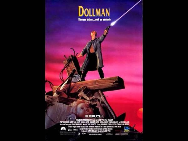 DOLLMAN End Title musiche di Tony Riparetti