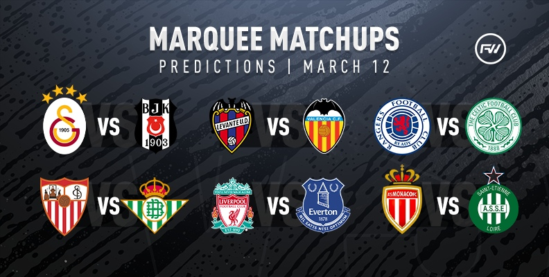 FIFA 20 Marquee Matchups Predictions: March 12th