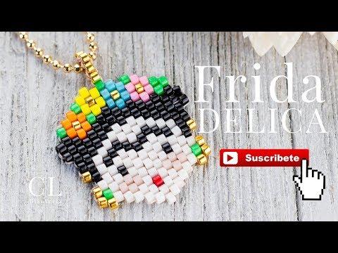 Dije Frida con Delica Miyuki fácil de hacer Parte 1