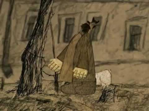 Мультфильм Дворник на луне