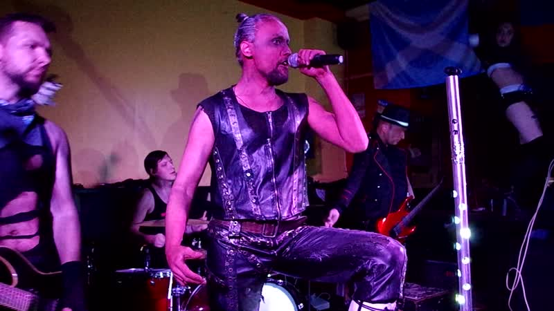 KINDER Tribute To Rammstein BLOODY HOLLYWOOD Harats Pub Tula 8