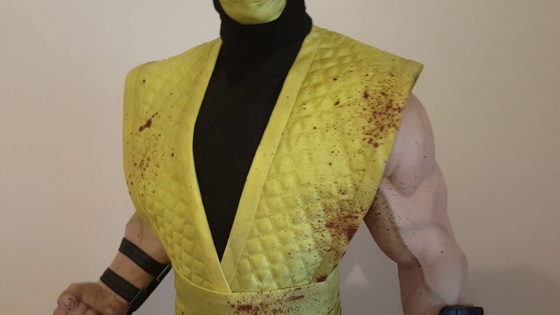Pop Culture Shock PCS 1:3 Scorpion Mortal Kombat