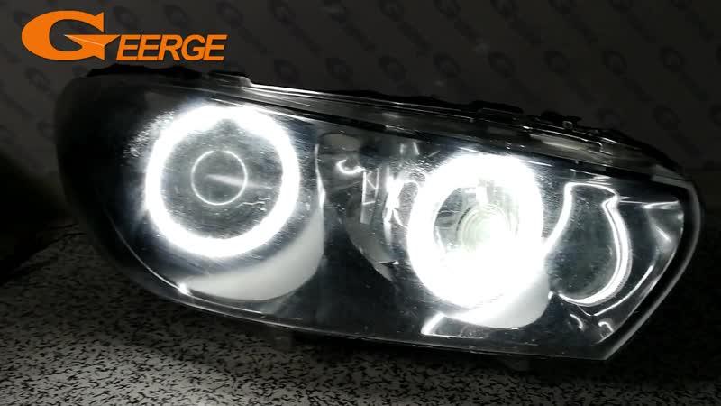 For Volkswagen VW Scirocco 2008-2013 xenon headlight Excellent angel eyes Ultra bright illumination CCFL Angel Eyes kit