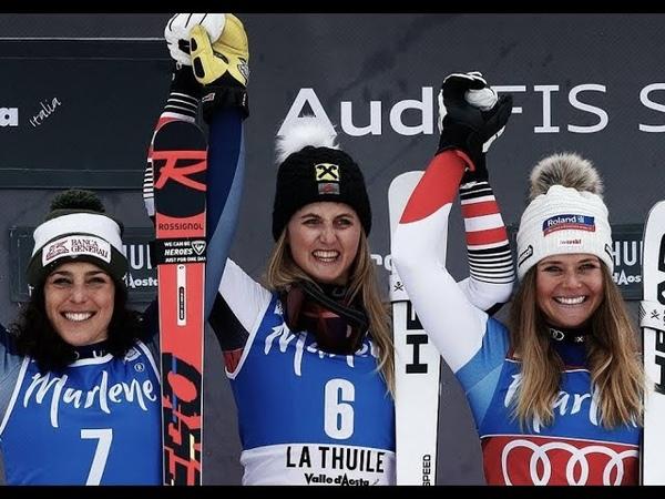 FIS Alpine Skiing World Cup Women's Super G La Thuile ITA 29 2 2020