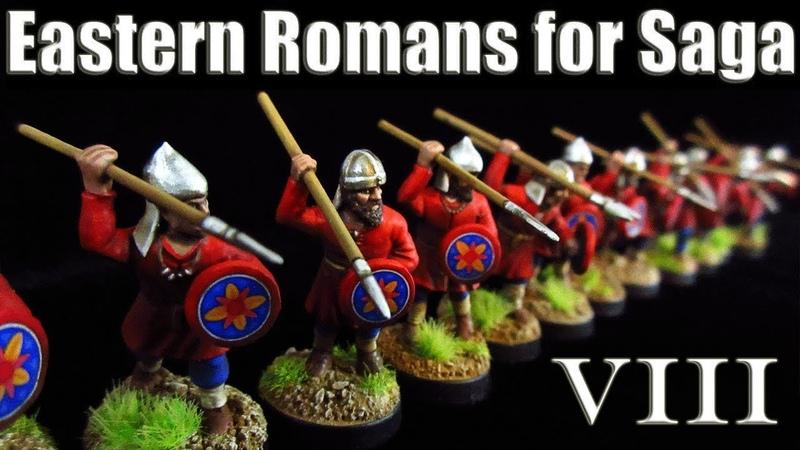 Eastern Romans for Saga Part 8 Skirmishers