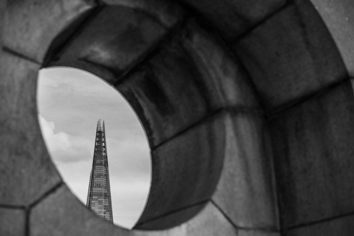 London Architecture in Black