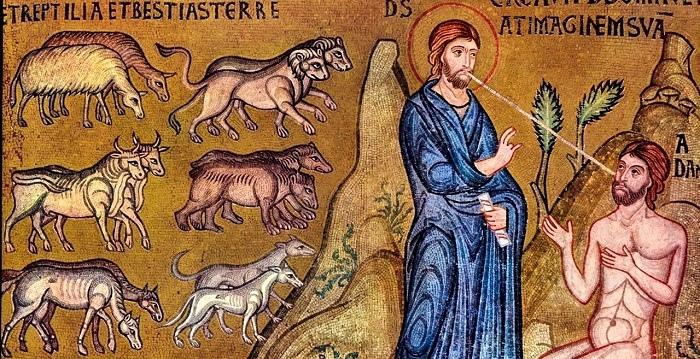 Сотворение животных и человека