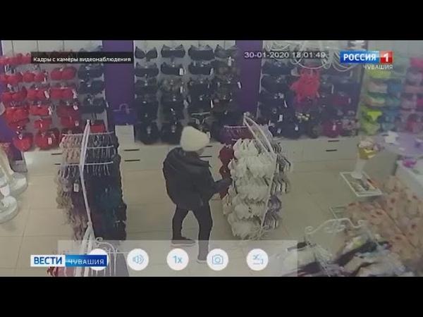 В Чебоксарах полицейские задержали воровку нижнего белья