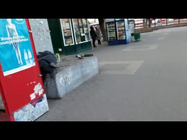 Бездомная Ольга жд вокзал Воронеж часть 1