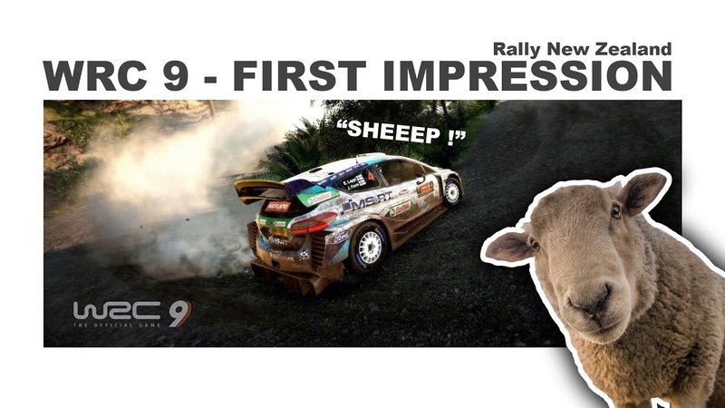 WRC 9 First Impressions Rally New Zealand