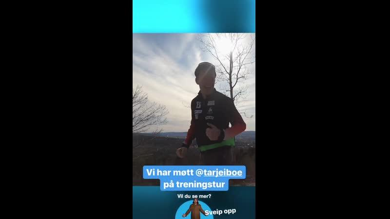 Во время пробежки в Коллене перед интервью VG 17 04 2020