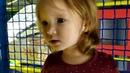 Alla with her parents in the children's play complex. Алла с родителями в детском игровом комплексе.