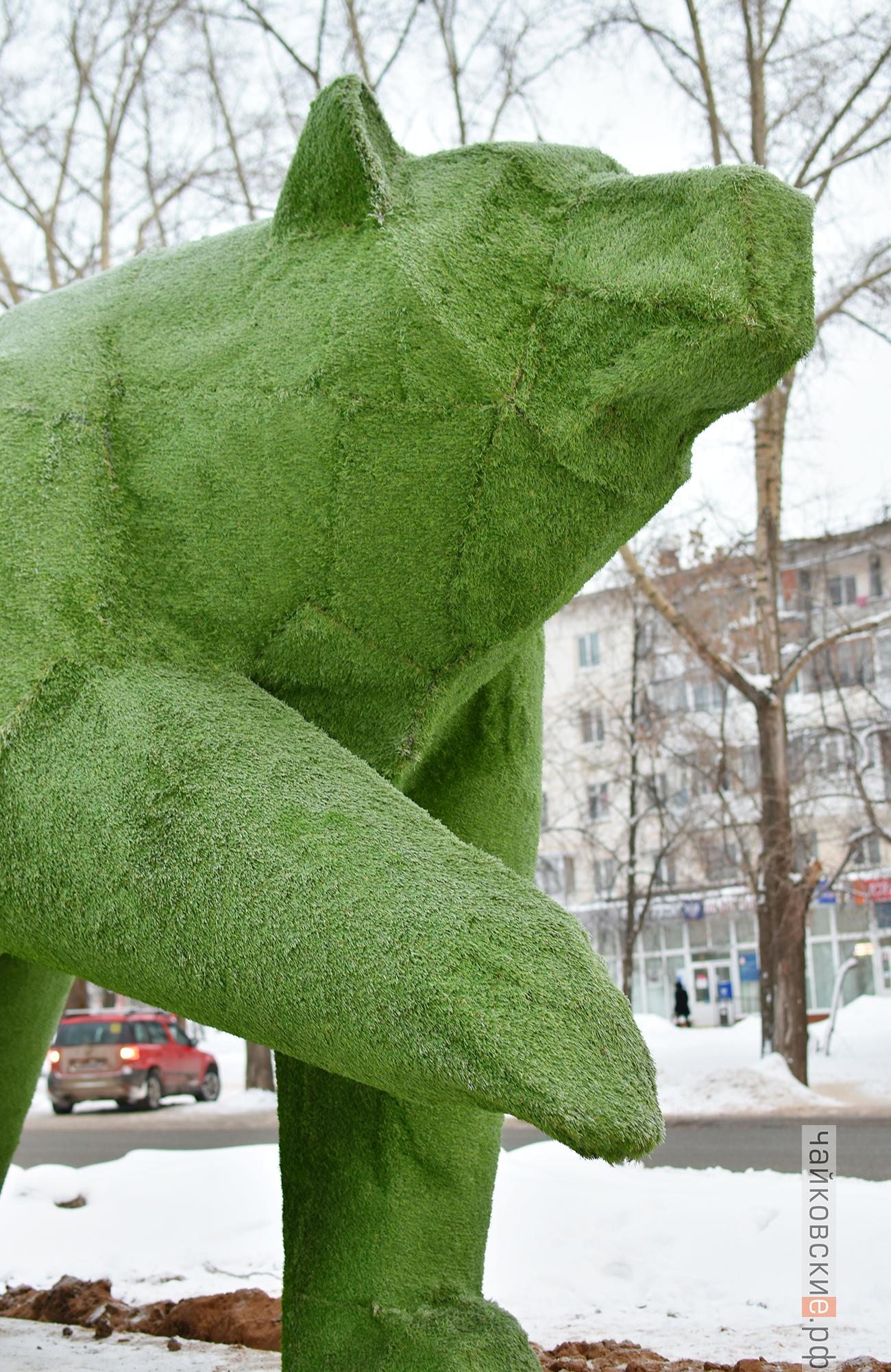 арт-объект, чайковский район, 2020 год