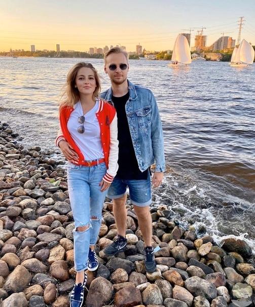 Анна Михайловская с возлюбленным