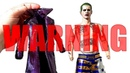IMPORTANT WARNING! PROOF OF HOT TOYS PURPLE COAT STAINING JOKERS BODY