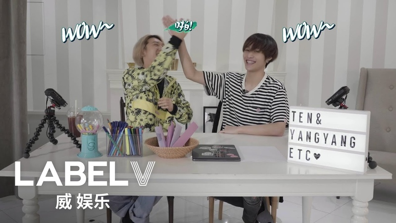WayV ariety 'Limited' Lucky Draw🎲🎨 TEN X YANGYANG's Enjoy The Challenge Ep 1