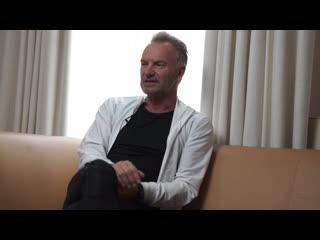 Sting discusses my songs desert rose