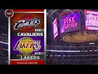 Lakers x Cavaliers 12/01/06