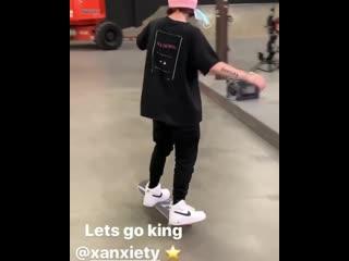 Lil Xan | Skateboarding