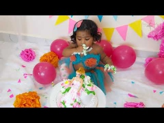 No sew TuTu skirt for Baby||perfect for 1st Birthday Cake smash||టూటూ డ్రెస్ ఫర్ కిడ్స్👗👑